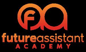 Logo op de homepagina van Future Assistant Academy - Voor futureproof assistants in het onderwijs en bedrijfsleven